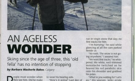 """An Ageless Wonder"" article about retired Park Warden, John Wackerle …"